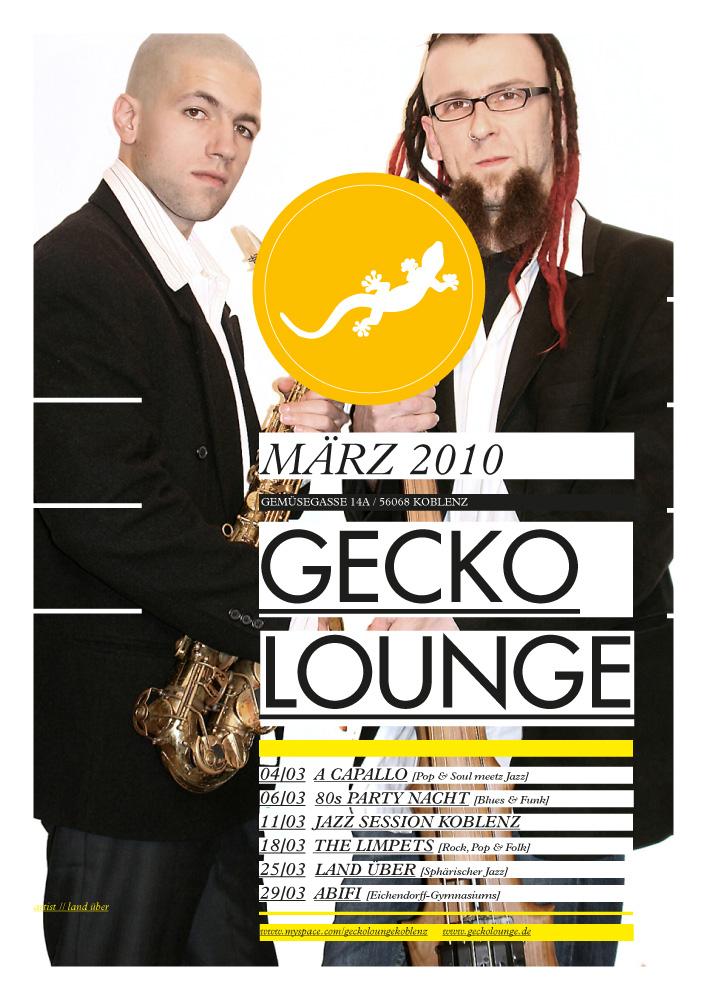 soheyl nassary GECKO LOUNGE / POSTERS I